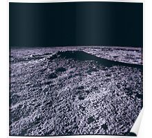 Apollo Archive 0038 Moon Lunar Surface Crater Poster