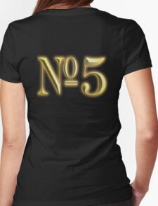 5, NUMBER 5, in Gold, FIFTH, FIVE, 5, Competition, TEAM SPORTS, T-Shirt