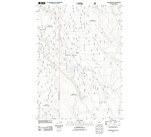USGS Topo Map Oregon Location Butte 20110818 TM Photographic Print