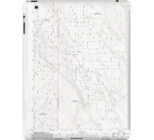 USGS Topo Map Oregon Location Butte 20110818 TM iPad Case/Skin