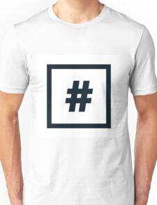 "Alphabet ""#"" Unisex T-Shirt"