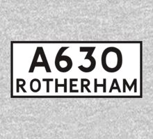 Rotherham (Old sign/ pre-Worboys style) Baby Tee