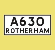 Rotherham (Old sign/ pre-Worboys style) Kids Clothes