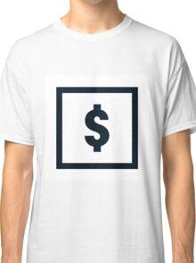 "Alphabet ""$"" Classic T-Shirt"