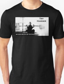 Try Harder - Brandon Front Squat T-Shirt