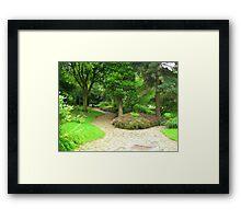 A Garden Somewhere Framed Print