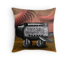Pudgy Air Ways P.A.W. Throw Pillow