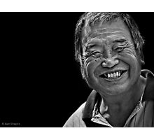 The bigger the smile you give, the bigger the smile you get.  Photographic Print
