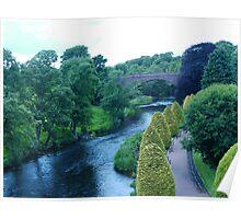 Bridge by the Brig-a-Doon, Ayrshire Poster