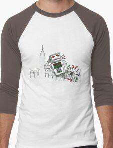 Robot Takes New York Men's Baseball ¾ T-Shirt
