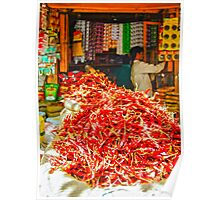 Red Chilies  Poster