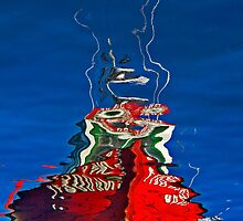 Fishing Boat, Reflected by cclaude