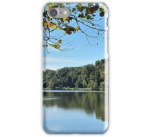 Autumn Eases In iPhone Case/Skin