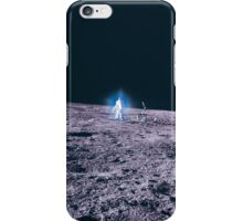 Apollo Archive 0037 Moon Astronaut on Lunar Surface Lens Artifact iPhone Case/Skin