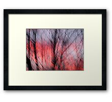 August Winds Framed Print