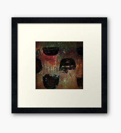 Ancient Warriors Framed Print