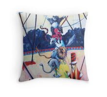 Nocturnal Academy Four Throw Pillow