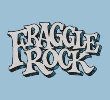 Fraggle Rock Vintage Style in WHITE  Baby Tee