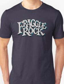 Fraggle Rock Logo  Vintage style in WHITE - muppets T-Shirt