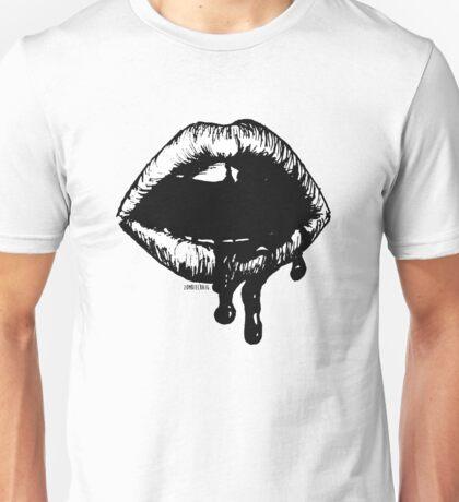 Bloody Lips Unisex T-Shirt