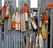 Just A Few Good Ole Buoys by John  Kapusta
