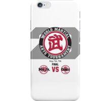 23rd World Martial Arts Tournament (Dragonball Z) iPhone Case/Skin
