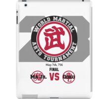 23rd World Martial Arts Tournament (Dragonball Z) iPad Case/Skin