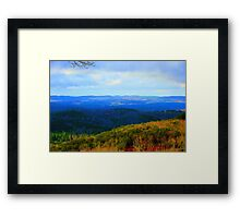 Sunshine and Stormclouds Framed Print