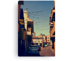 Bahrain Alleyway Canvas Print