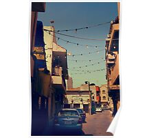 Bahrain Alleyway Poster