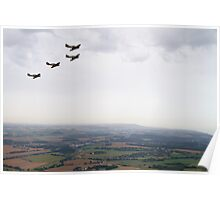 Hurricanes over Kent Poster