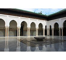 The Great Mosque of Paris Photographic Print