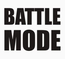 Battle Mode Kids Clothes