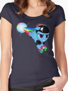 Taste the Rainbow Women's Fitted Scoop T-Shirt