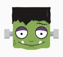 Halloween Frankenstein Shirt Kids Clothes
