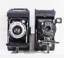 Vintage cameras by franceslewis