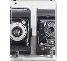Vintage cameras iPad Case/Skin
