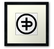 Flux Pavilion new Logo Framed Print