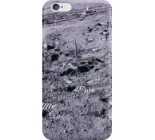 Apollo Archive 0109 Moon Footprints and Equipment on Lunar Surface iPhone Case/Skin
