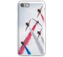 Red Arrows - Twister iPhone Case/Skin