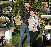 Rudy and Marion at Fairlight Gardens B.&  B..  by MrJoop