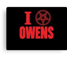 Hail Owens Pentagram Canvas Print