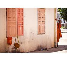 Cambodge - Une vie de moine Photographic Print