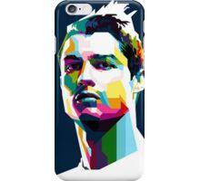 Cristiano Ronaldo Artistic Face iPhone Case/Skin