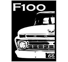 1966 F100 Grill Photographic Print