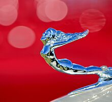 1936 Cadillac Fleetwood Hood Ornament by Jill Reger
