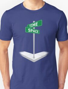 At the corner of Time and Space T-Shirt