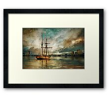 The Voyagers Framed Print