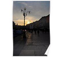 Verona - Piazza Bra` Poster