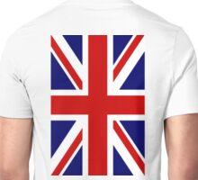 UNION JACK, British, Union Jack Flag, 2:3 UK, United Kingdom, UK, GB, Portrait Unisex T-Shirt